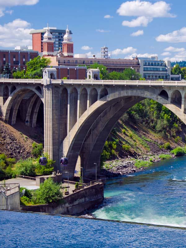 Spokane Washington River
