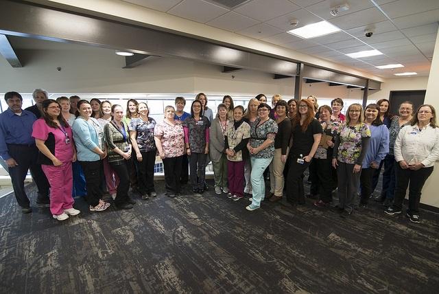 Internal Medicine Staff group photo